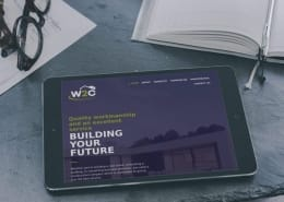 W2Construction Website